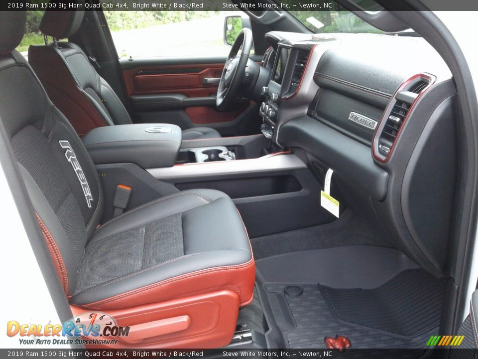 Front Seat of 2019 Ram 1500 Big Horn Quad Cab 4x4 Photo #14