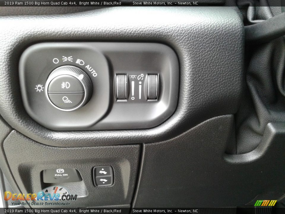 Controls of 2019 Ram 1500 Big Horn Quad Cab 4x4 Photo #15
