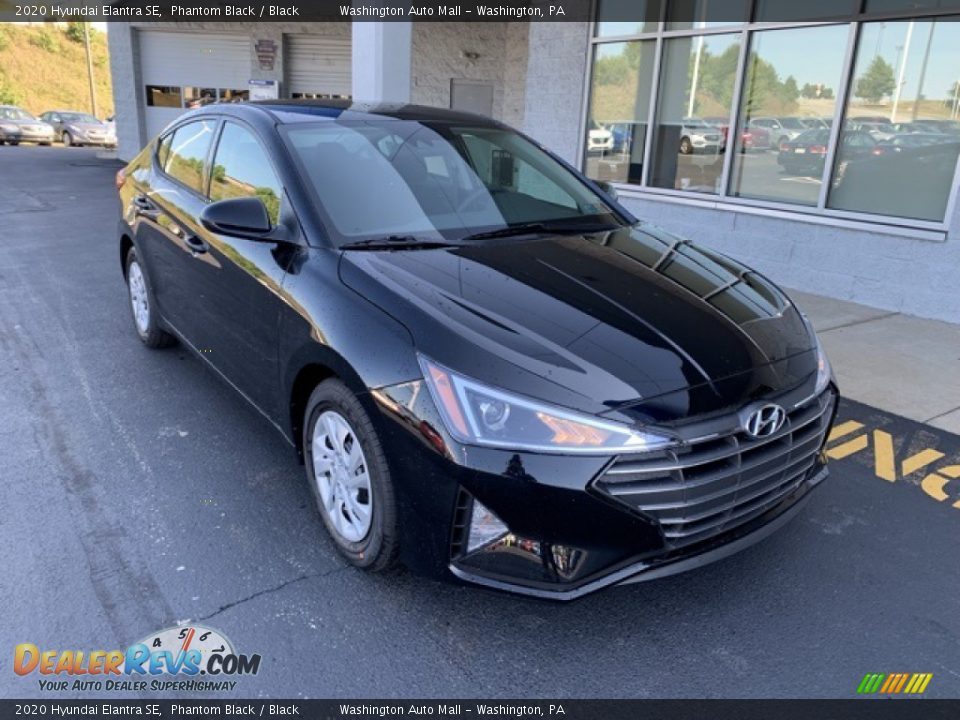 2020 Hyundai Elantra SE Phantom Black / Black Photo #2