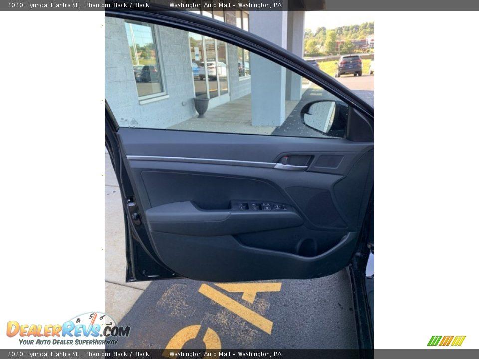 2020 Hyundai Elantra SE Phantom Black / Black Photo #11