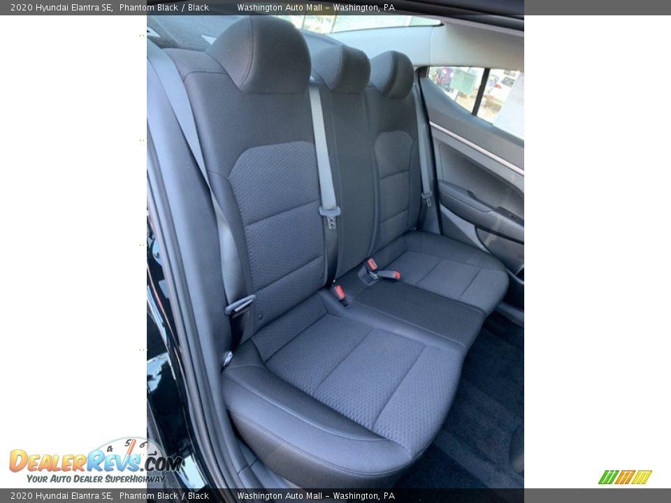 2020 Hyundai Elantra SE Phantom Black / Black Photo #25