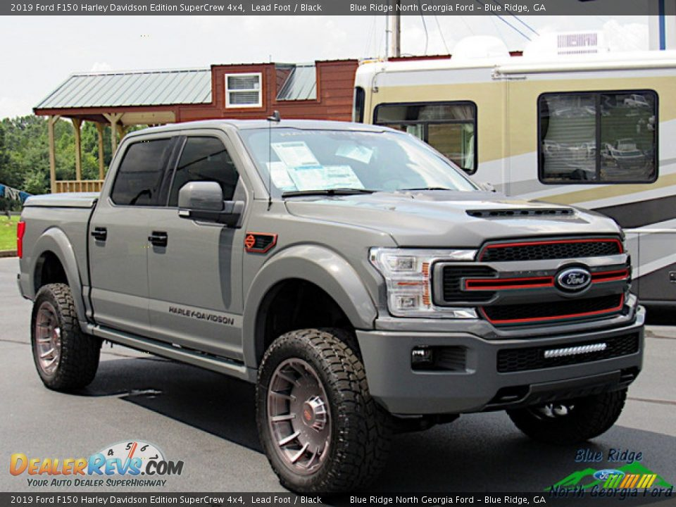 2019 Ford F150 Harley Davidson Edition SuperCrew 4x4 Lead Foot / Black Photo #7