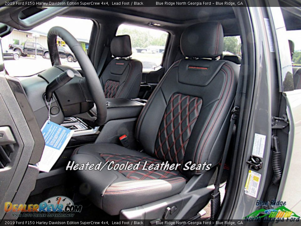 2019 Ford F150 Harley Davidson Edition SuperCrew 4x4 Lead Foot / Black Photo #10