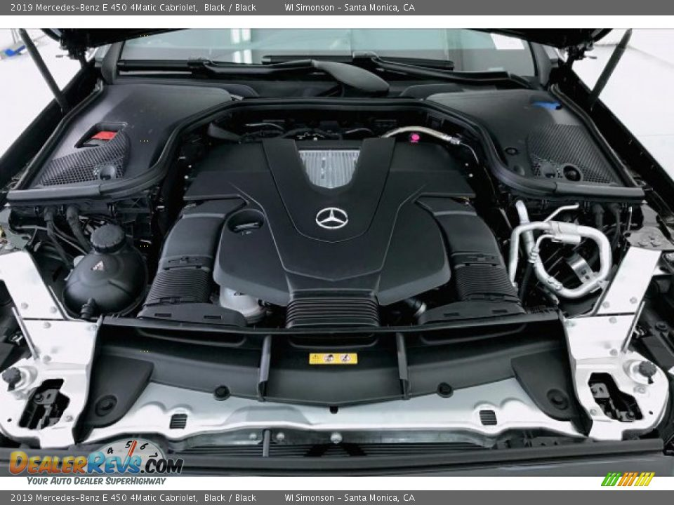 2019 Mercedes-Benz E 450 4Matic Cabriolet 3.0 Liter Turbocharged DOHC 24-Valve VVT V6 Engine Photo #8