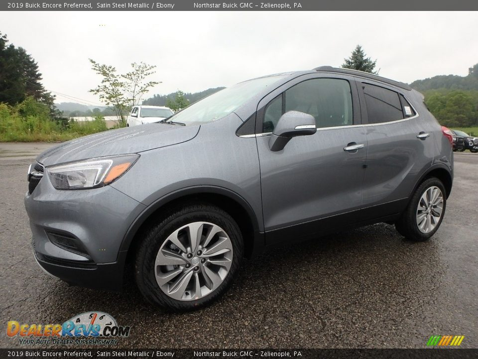 2019 Buick Encore Preferred Satin Steel Metallic / Ebony Photo #1