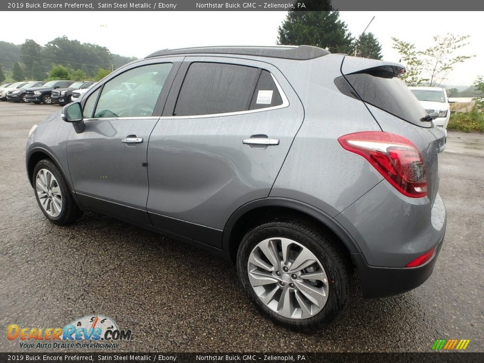 2019 Buick Encore Preferred Satin Steel Metallic / Ebony Photo #8