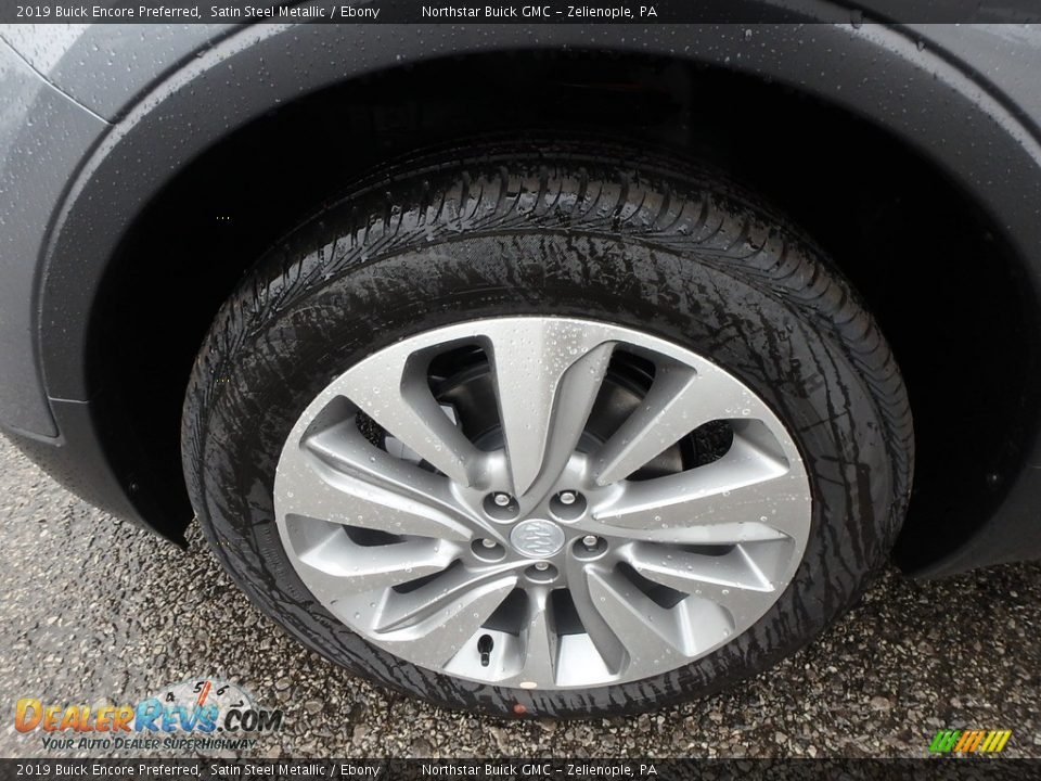 2019 Buick Encore Preferred Satin Steel Metallic / Ebony Photo #10