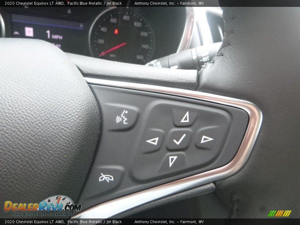 2020 Chevrolet Equinox LT AWD Pacific Blue Metallic / Jet Black Photo #17