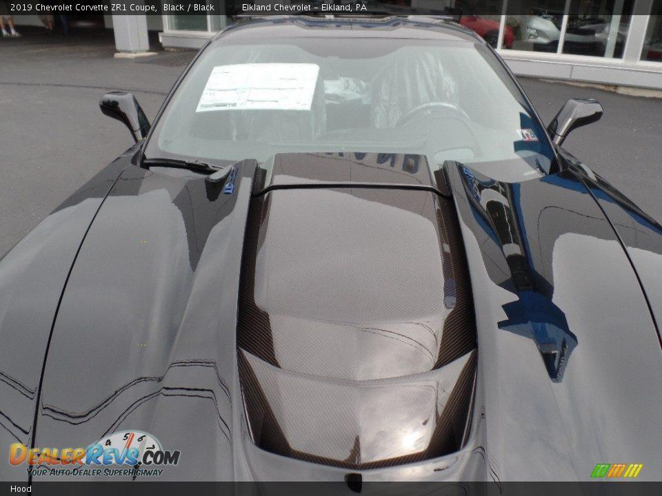 Hood - 2019 Chevrolet Corvette