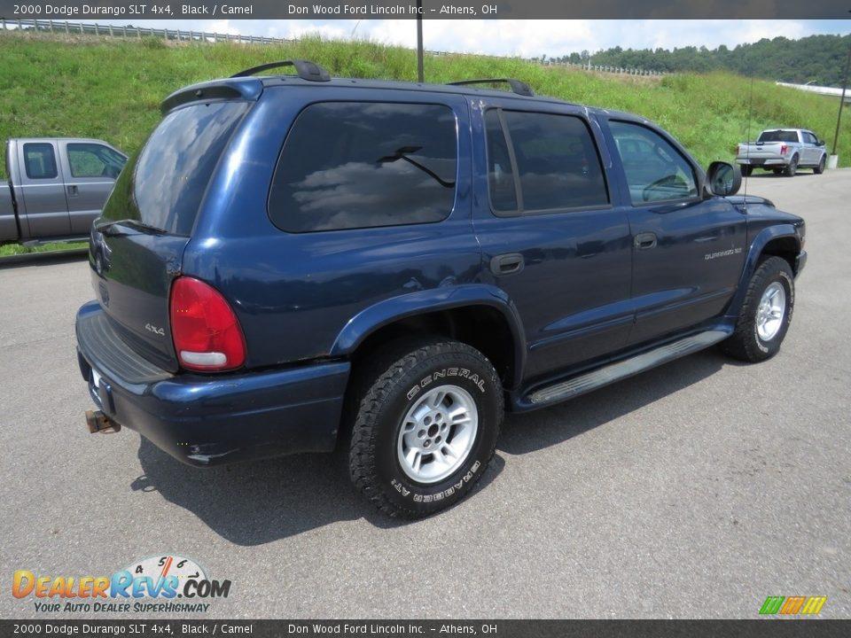 2000 Dodge Durango SLT 4x4 Black / Camel Photo #13