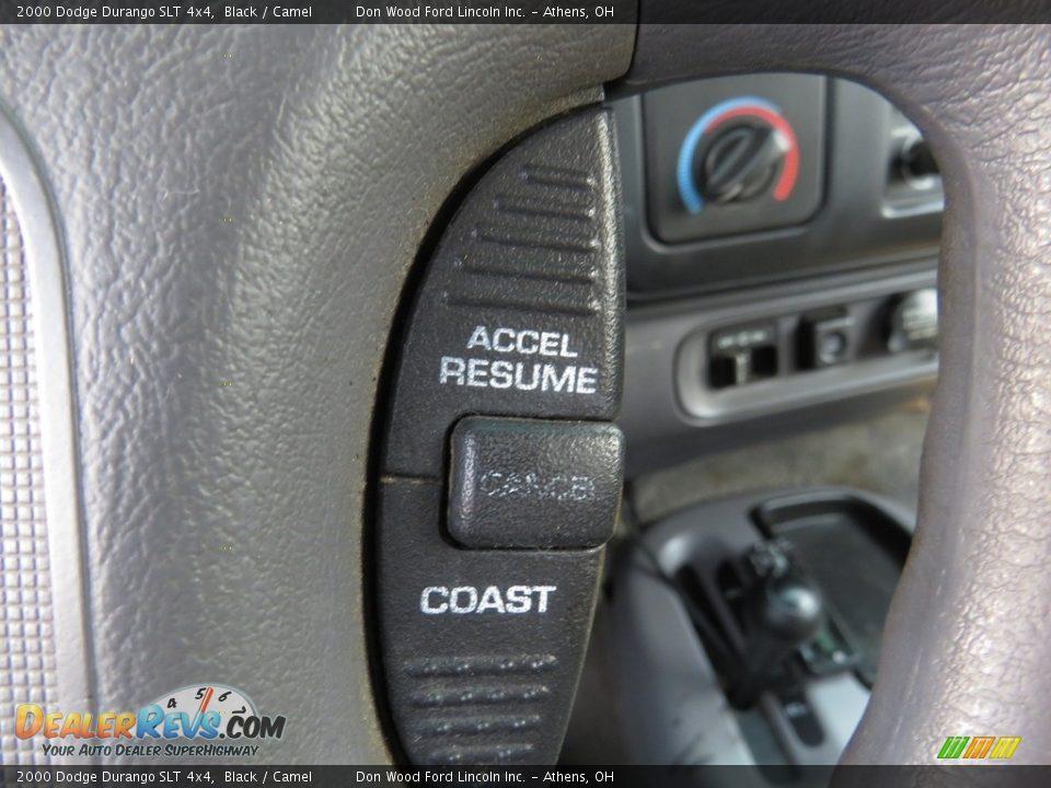 2000 Dodge Durango SLT 4x4 Black / Camel Photo #31