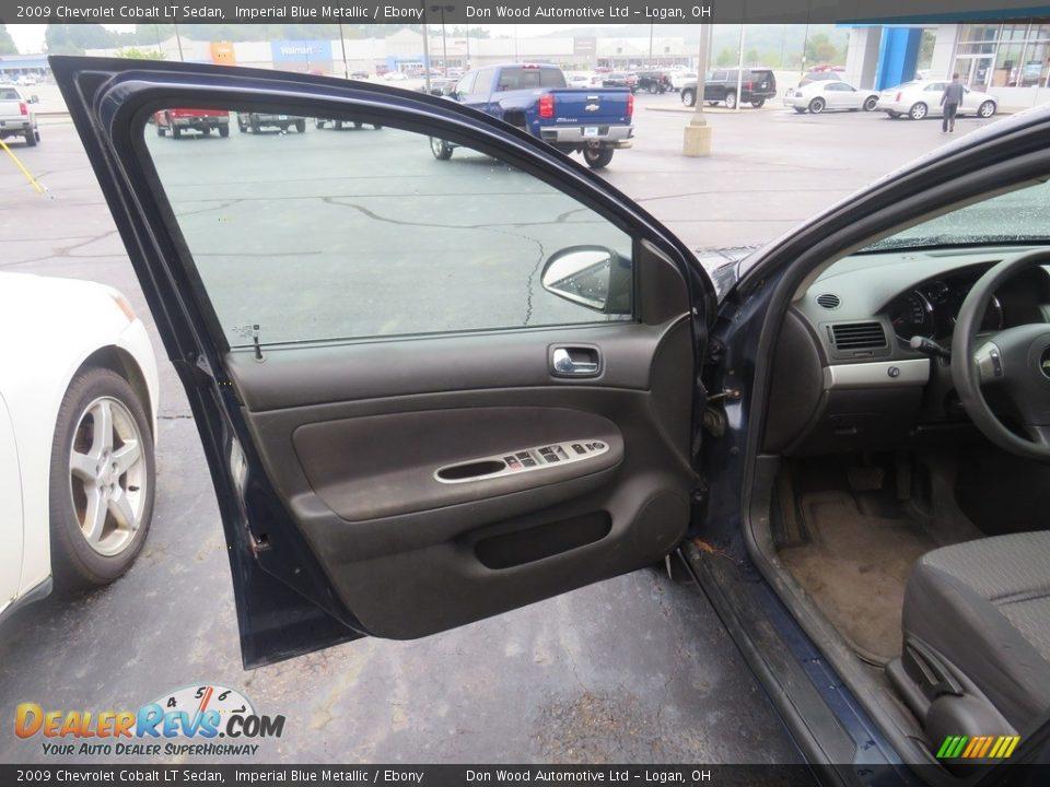 2009 Chevrolet Cobalt LT Sedan Imperial Blue Metallic / Ebony Photo #7