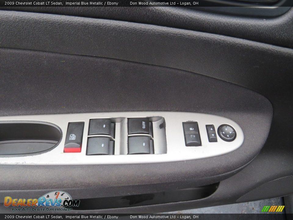2009 Chevrolet Cobalt LT Sedan Imperial Blue Metallic / Ebony Photo #8