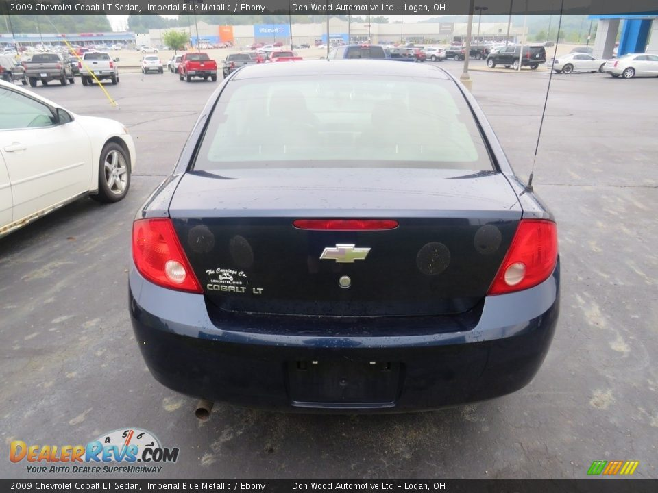 2009 Chevrolet Cobalt LT Sedan Imperial Blue Metallic / Ebony Photo #24