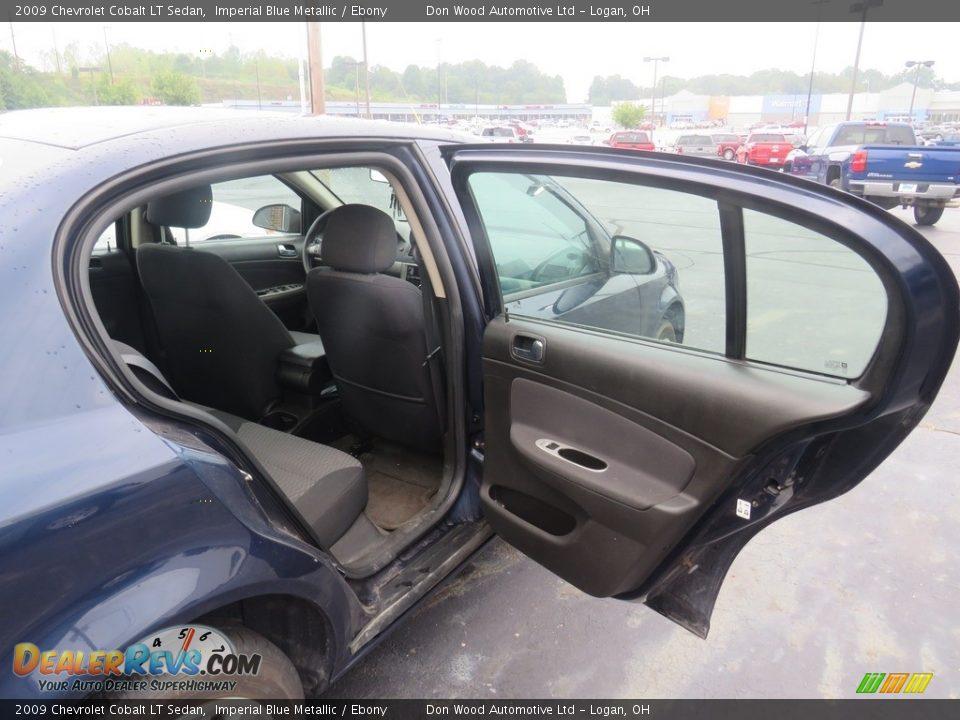 2009 Chevrolet Cobalt LT Sedan Imperial Blue Metallic / Ebony Photo #29