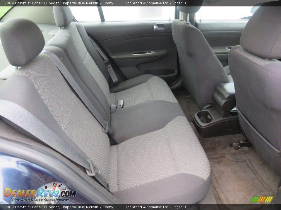 2009 Chevrolet Cobalt LT Sedan Imperial Blue Metallic / Ebony Photo #30
