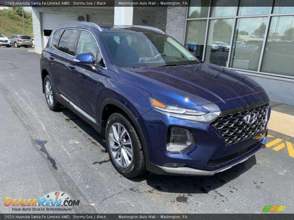 Front 3/4 View of 2020 Hyundai Santa Fe Limited AWD Photo #2