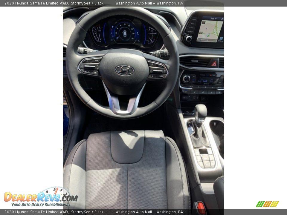 2020 Hyundai Santa Fe Limited AWD Stormy Sea / Black Photo #14