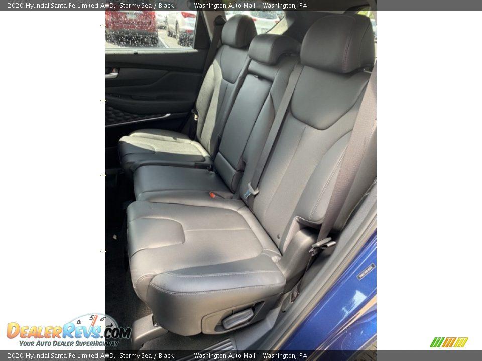 Rear Seat of 2020 Hyundai Santa Fe Limited AWD Photo #19