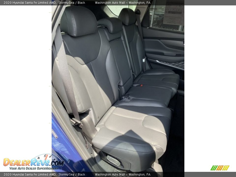 Rear Seat of 2020 Hyundai Santa Fe Limited AWD Photo #26