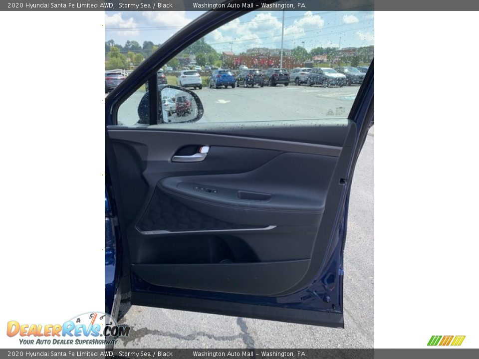 2020 Hyundai Santa Fe Limited AWD Stormy Sea / Black Photo #28