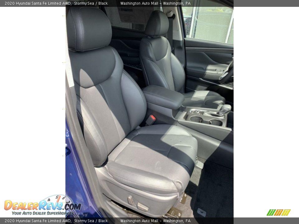 Front Seat of 2020 Hyundai Santa Fe Limited AWD Photo #29