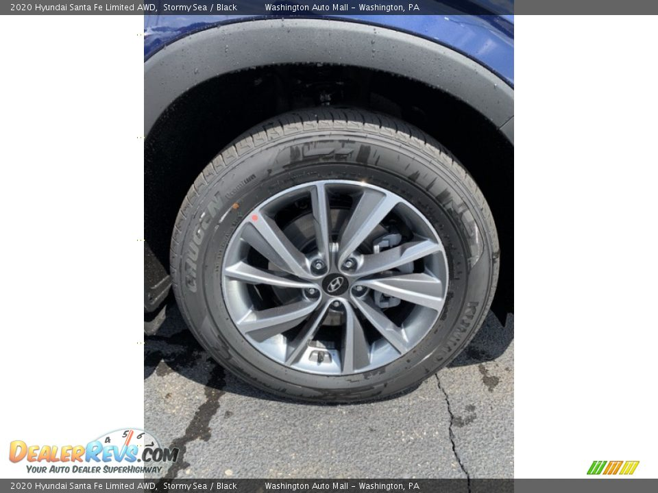 2020 Hyundai Santa Fe Limited AWD Wheel Photo #32