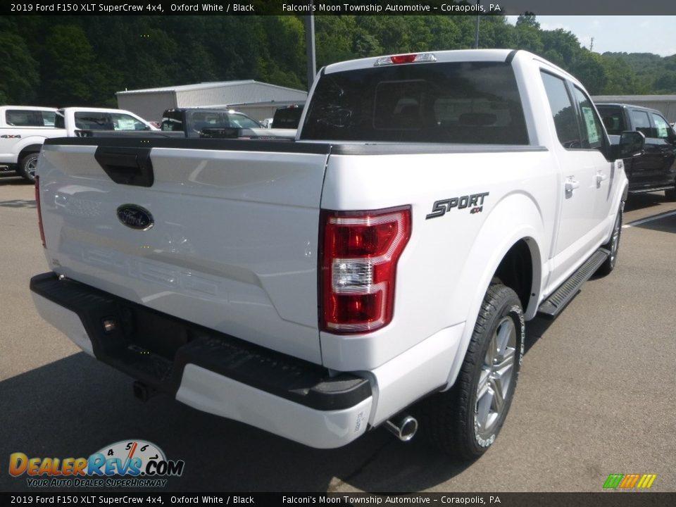 2019 Ford F150 XLT SuperCrew 4x4 Oxford White / Black Photo #2