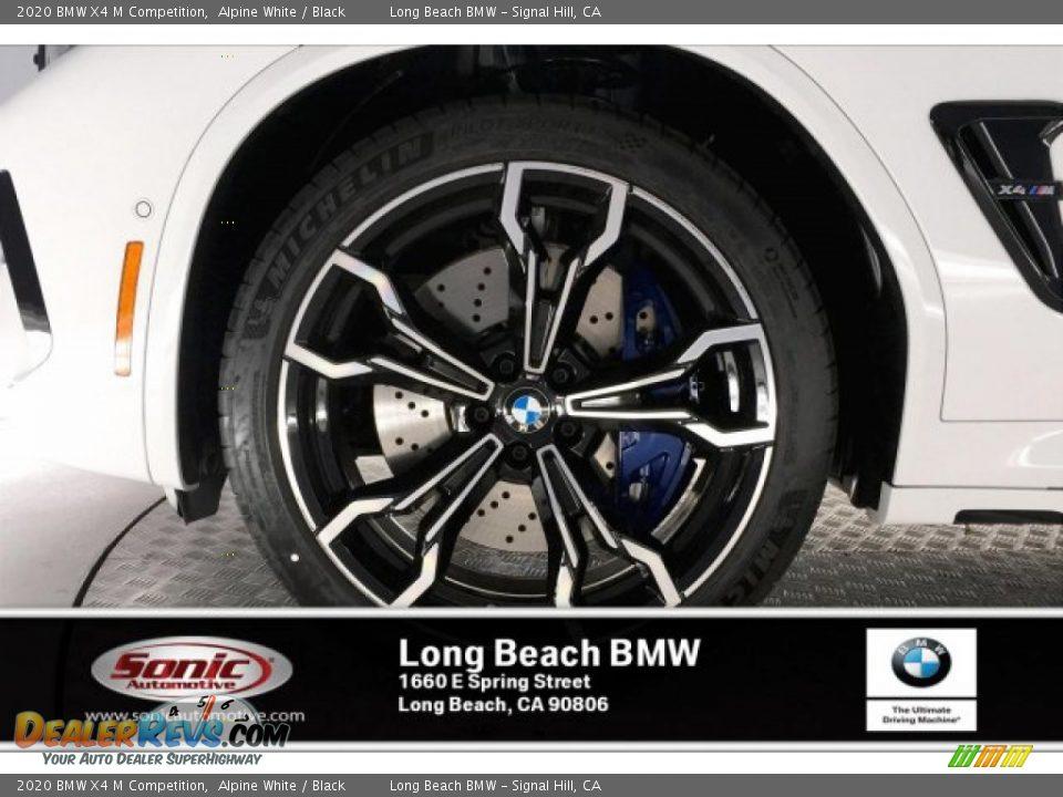 2020 BMW X4 M Competition Alpine White / Black Photo #9