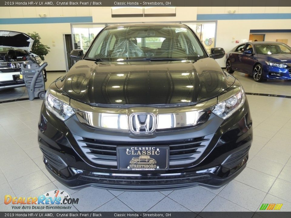 2019 Honda HR-V LX AWD Crystal Black Pearl / Black Photo #2