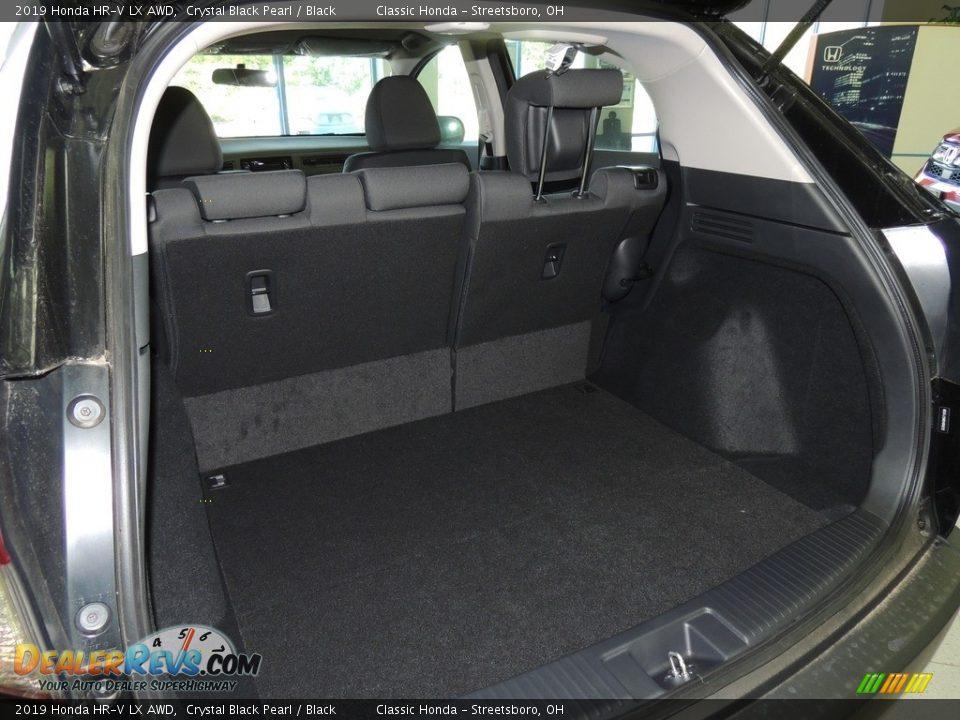2019 Honda HR-V LX AWD Crystal Black Pearl / Black Photo #18