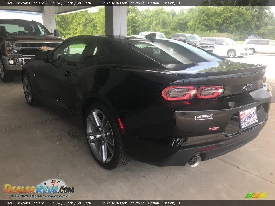 2020 Chevrolet Camaro LT Coupe Black / Jet Black Photo #5