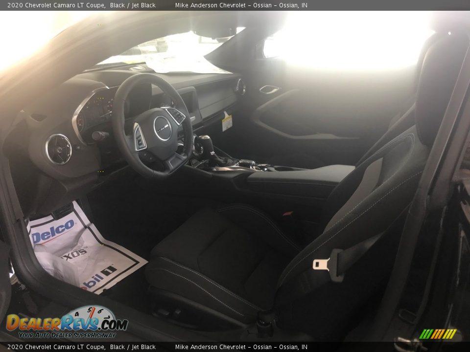 2020 Chevrolet Camaro LT Coupe Black / Jet Black Photo #10