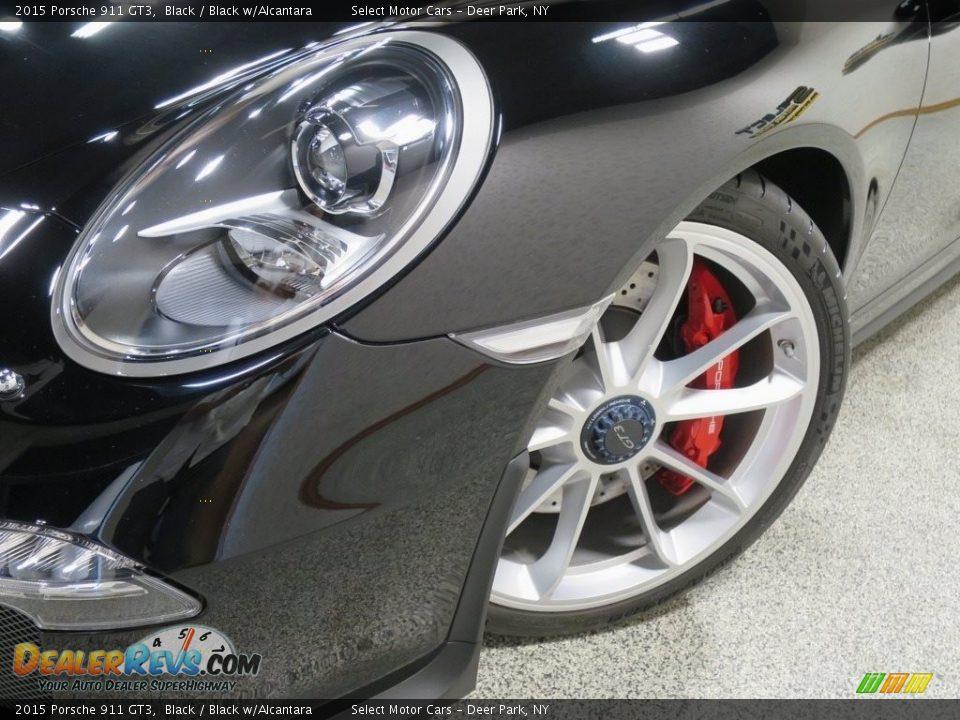 2015 Porsche 911 GT3 Black / Black w/Alcantara Photo #9
