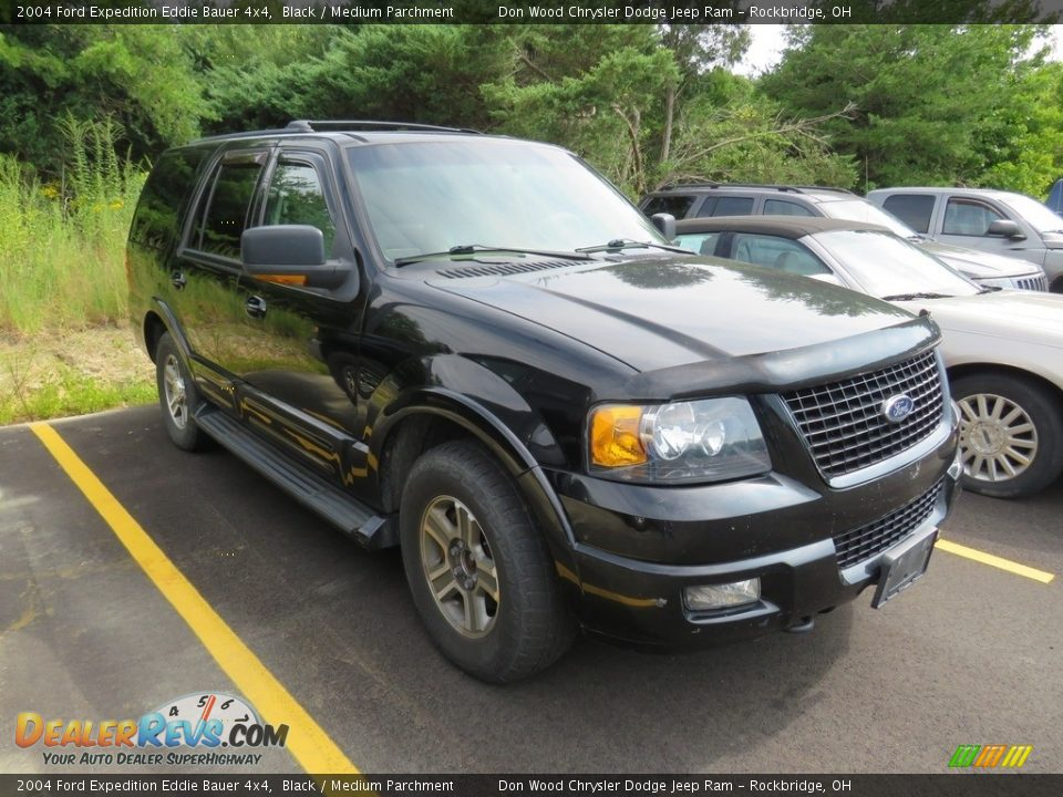 2004 Ford Expedition Eddie Bauer 4x4 Black / Medium Parchment Photo #1
