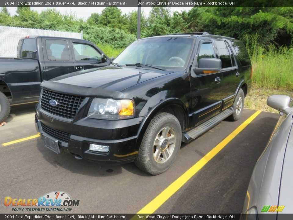 2004 Ford Expedition Eddie Bauer 4x4 Black / Medium Parchment Photo #2