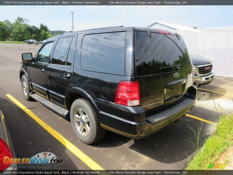 2004 Ford Expedition Eddie Bauer 4x4 Black / Medium Parchment Photo #5