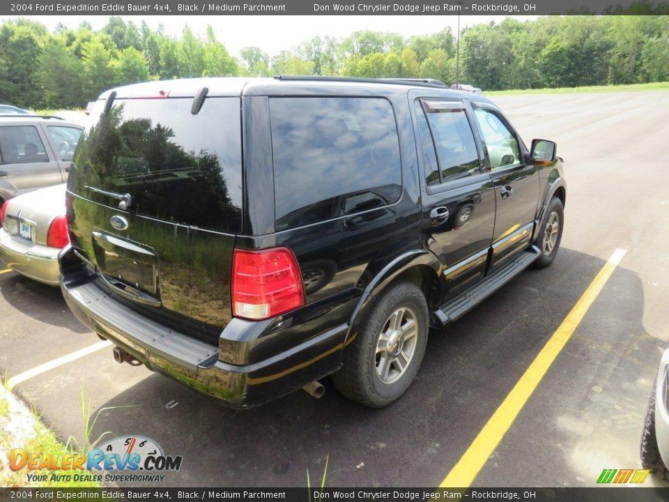 2004 Ford Expedition Eddie Bauer 4x4 Black / Medium Parchment Photo #6