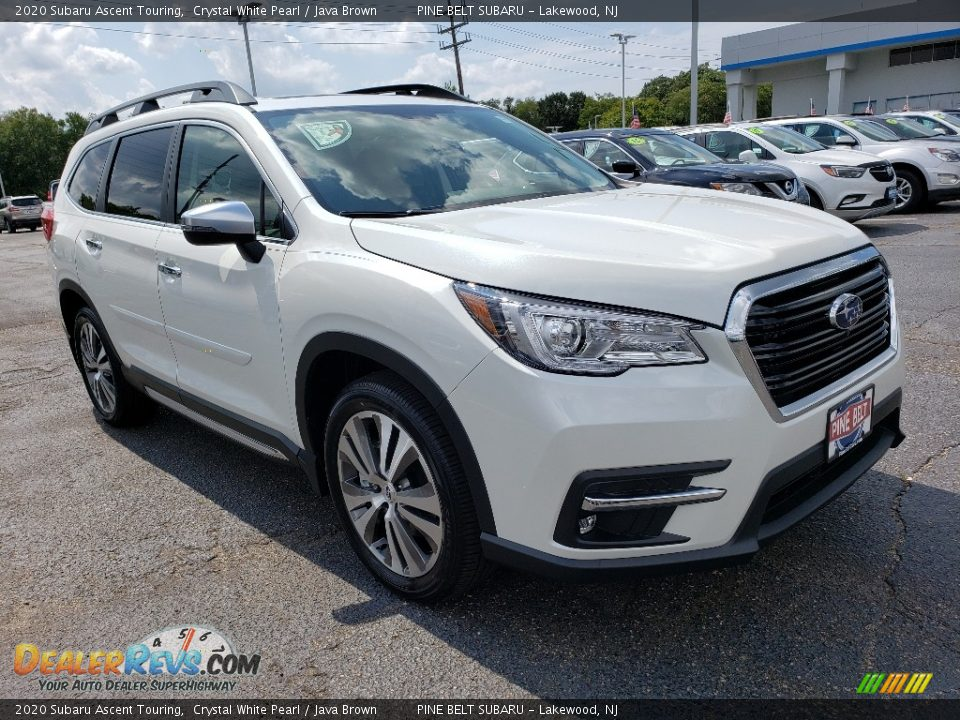 Front 3/4 View of 2020 Subaru Ascent Touring Photo #1