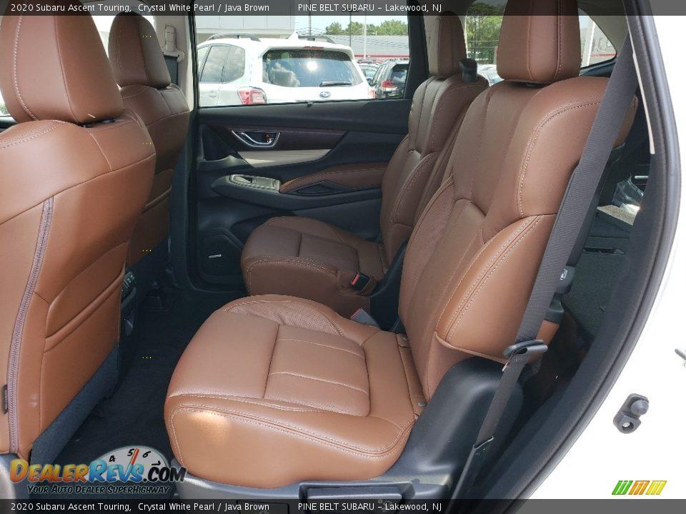 Rear Seat of 2020 Subaru Ascent Touring Photo #5