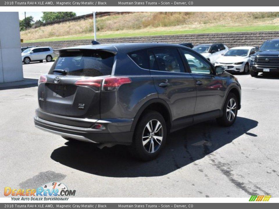 2018 Toyota RAV4 XLE AWD Magnetic Gray Metallic / Black Photo #6