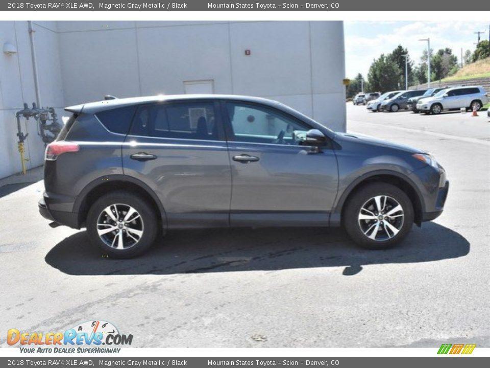 2018 Toyota RAV4 XLE AWD Magnetic Gray Metallic / Black Photo #7