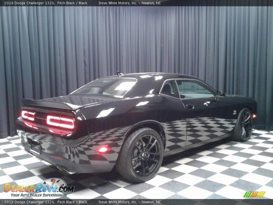 2019 Dodge Challenger 1320 Pitch Black / Black Photo #6