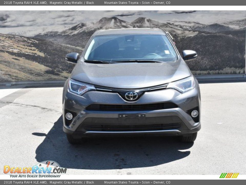 2018 Toyota RAV4 XLE AWD Magnetic Gray Metallic / Black Photo #8