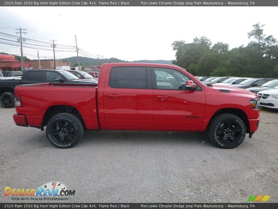 Flame Red 2020 Ram 1500 Big Horn Crew Cab 4x4 Photo #6