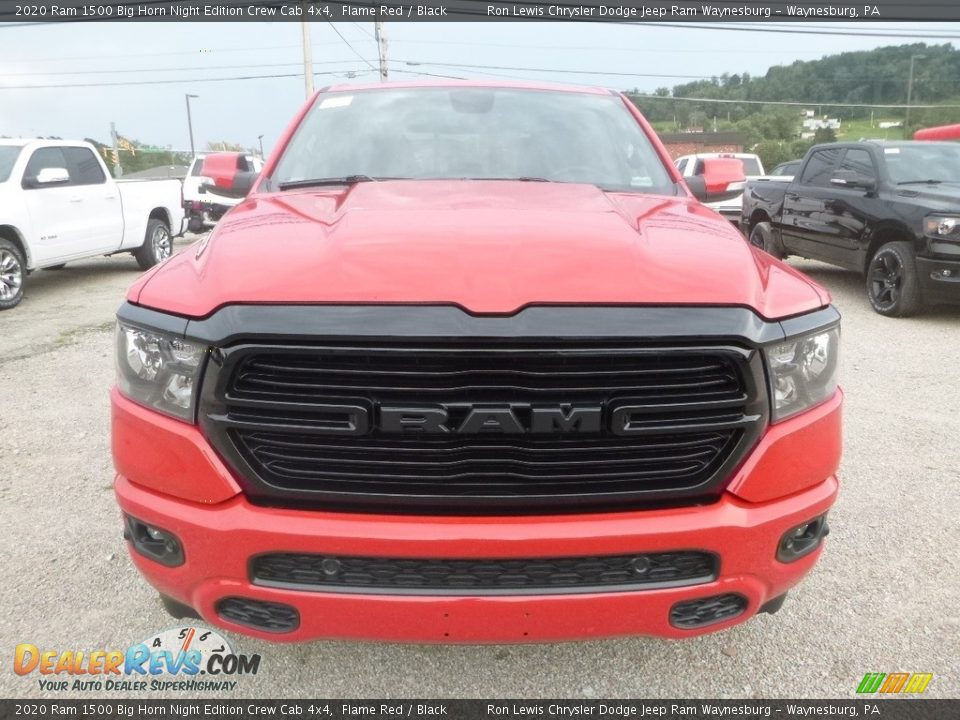Flame Red 2020 Ram 1500 Big Horn Crew Cab 4x4 Photo #8