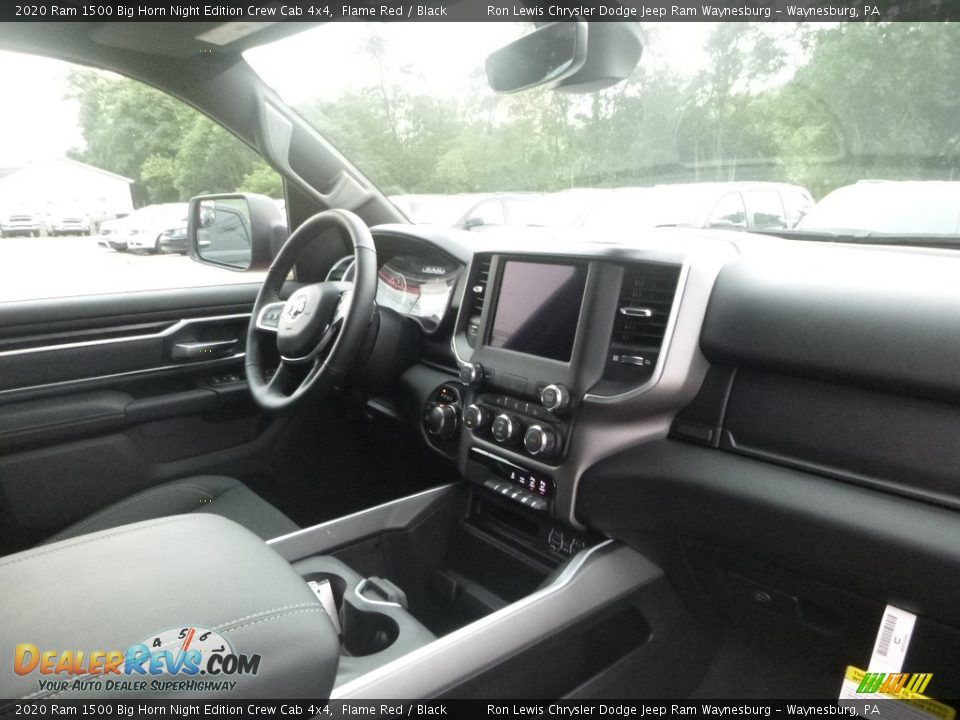 Dashboard of 2020 Ram 1500 Big Horn Crew Cab 4x4 Photo #11