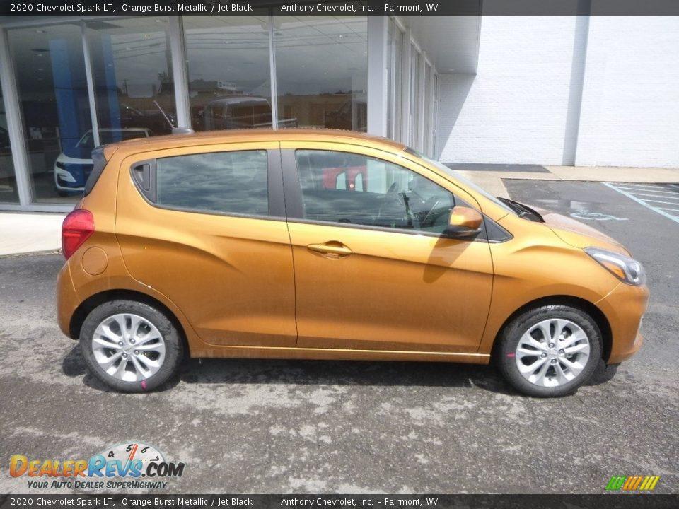 Orange Burst Metallic 2020 Chevrolet Spark LT Photo #3