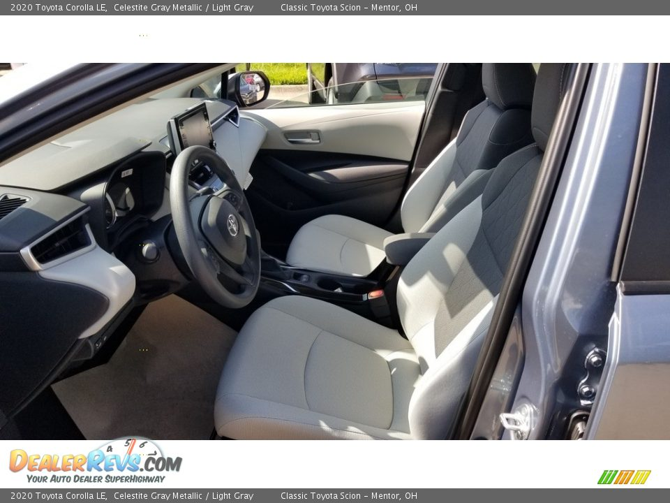 Light Gray Interior - 2020 Toyota Corolla LE Photo #2