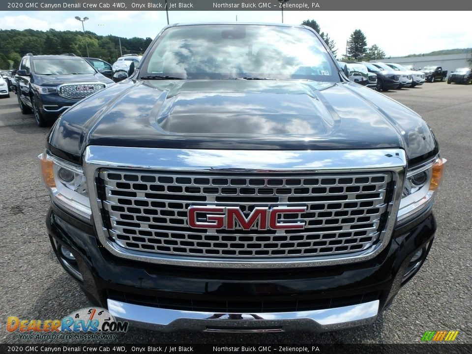 2020 GMC Canyon Denali Crew Cab 4WD Onyx Black / Jet Black Photo #2